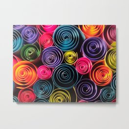 Rolled Color Metal Print