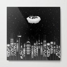 Above It All - Starry Night Sleep   Metal Print