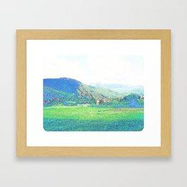 """""""The Hills"""" Framed Art Print"""