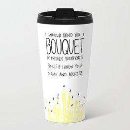 You've Got Mail- Bouquet of Freshly Sharpened Pencils Travel Mug
