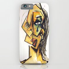Crying woman iPhone 6s Slim Case
