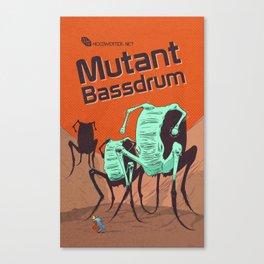 Hexinverter.net – Mutant Bassdrum Canvas Print