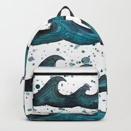 waves all day Backpack