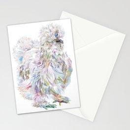 Silkie Chicken - Buchu Stationery Cards