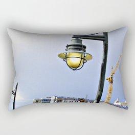 Light Along the Riverway Rectangular Pillow