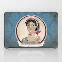 jane austen iPad Cases featuring Jane Austen said... by Mrs Peggotty