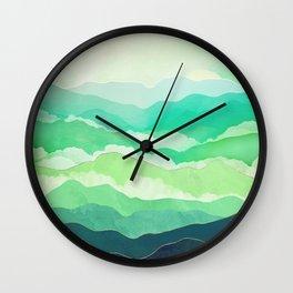 Emerald Spring Wall Clock