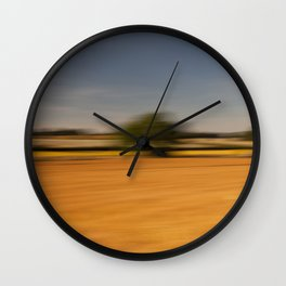 Moving Linseed Wall Clock