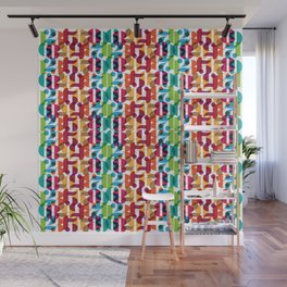 Number Crunching Wall Mural