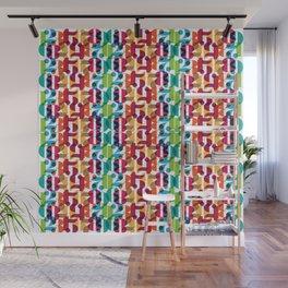 Number Crunching Wall Mural