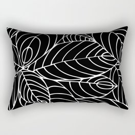 malaysian leaves Rectangular Pillow