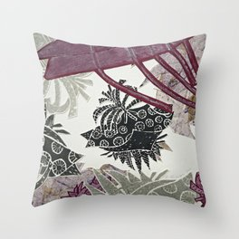 Touch of Tropical Throw Pillow