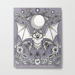 A Bat's Favorite Things Metal Print