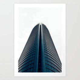 Skyscraper in Madrid Art Print