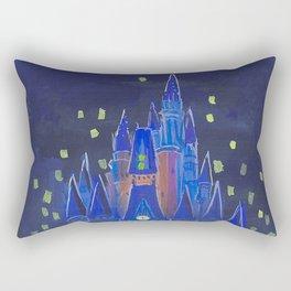 Cinderella Castle Rectangular Pillow