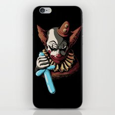 Clowns are Evil iPhone & iPod Skin
