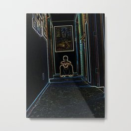 Melancholy Metal Print