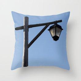 Light And Post Throw Pillow