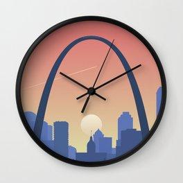 The Landing in St. Louis Wall Clock