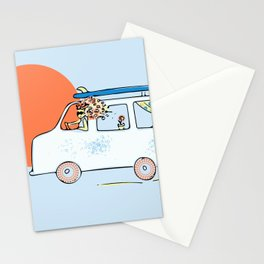 Happy Little Surf Van Stationery Cards