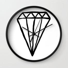 Big Rock Diamond Wall Clock
