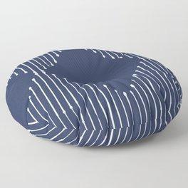 Geo (Navy) Floor Pillow