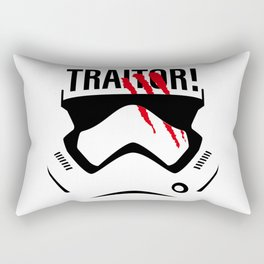 Traitor! Rectangular Pillow