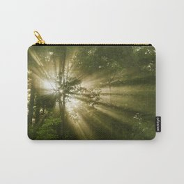 Sunrise Trees Carry-All Pouch