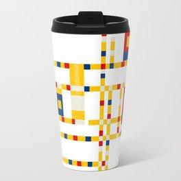 Mondrian Broadway Boogie Woogie Travel Mug