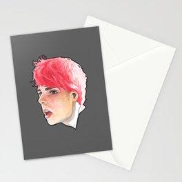 Gerard way portrait Stationery Cards