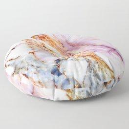Pink marble detail Floor Pillow