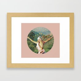 Her Name is Candy Framed Art Print