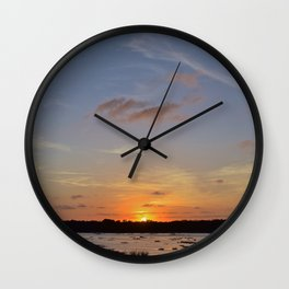 Floating.jpeg Wall Clock