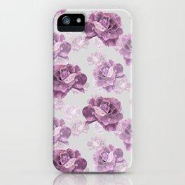 Zephyr roses iPhone Case