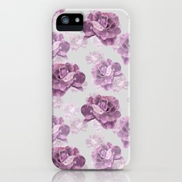Zephyr roses iPhone Case