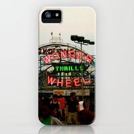 Wonder Wheel at Coney Island iPhone Case