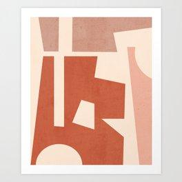 Minimal Abstract Art 29 Art Print