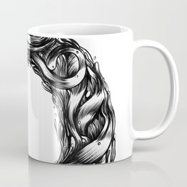 The Illustrated O  Coffee Mug