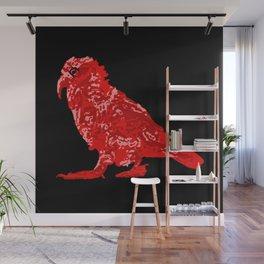 Kea Red single Wall Mural