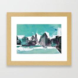 Velocity Framed Art Print