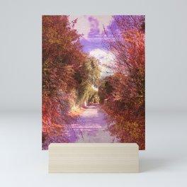 Abstract Country Italian Road Mini Art Print