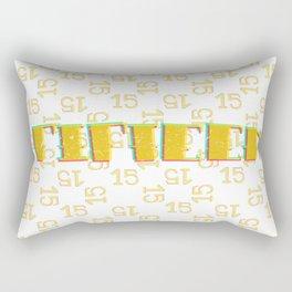 Project 2 (fifteen) Rectangular Pillow