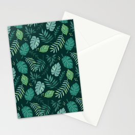 Leafy Palms Stationery Cards