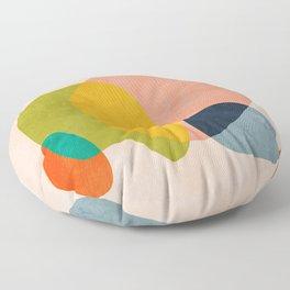 pink shape Floor Pillow