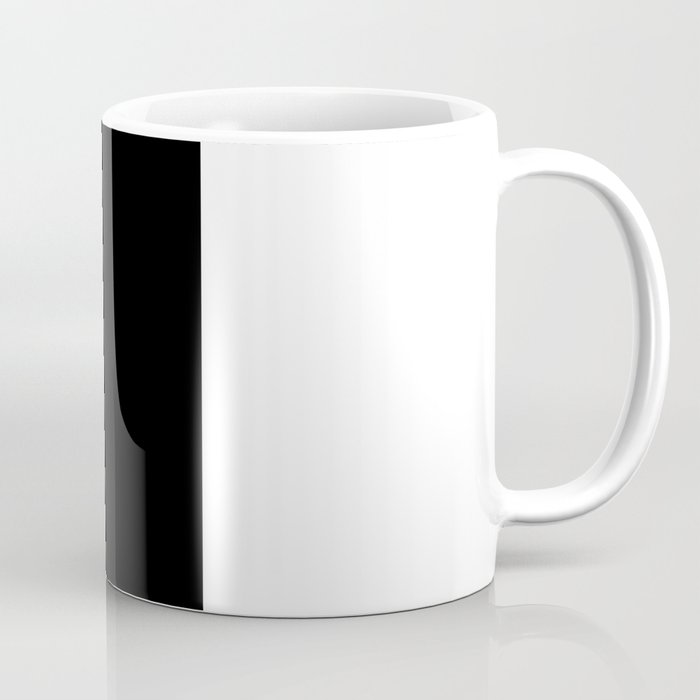 All Black Everything Coffee Mug