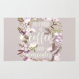 Coffee & Concealer – Spring Palette Rug