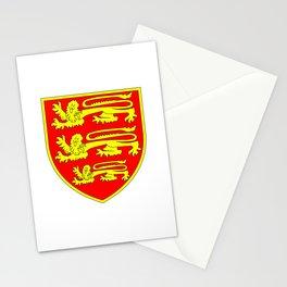 British Three Lions Shield Stationery Cards