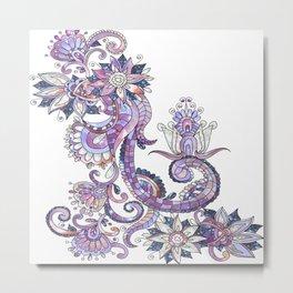 floral fantasy Metal Print