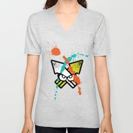 Splatoon - Turf Wars 4 Unisex V-Neck