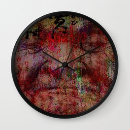 The last confrontation of miyamoto musashi Wall Clock